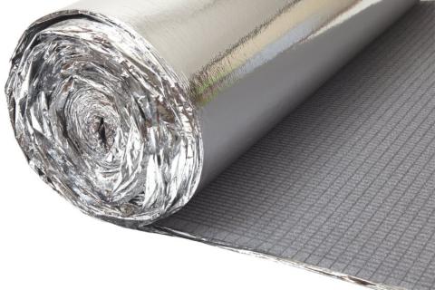 Heatblok ondervloer mm sterk isolerende ondervloer